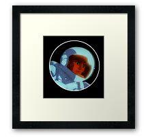 Daft Punk- Interstella 5555 Trippy Shep  Framed Print