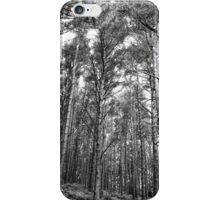 Nature in black and white iPhone Case/Skin