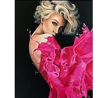 Liquid Dress Photographic Print
