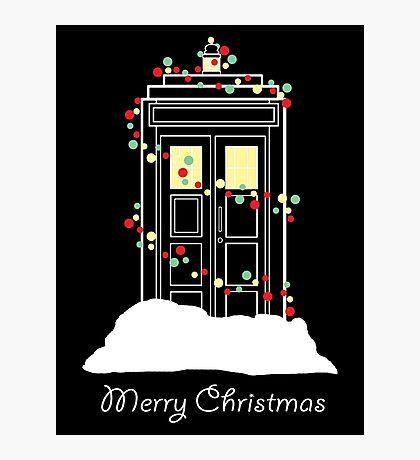 Christmas Sci-Fi - I Photographic Print
