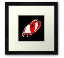 Dragon's Eye Framed Print