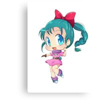 chibi cute Canvas Print
