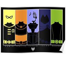 Vector Titans Poster