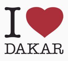 I ♥ DAKAR by eyesblau