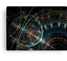 SteamPunk Fractal  Clockwork Canvas Print