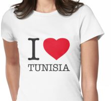 I ♥ TUNISIA Womens Fitted T-Shirt