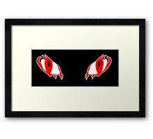 Dragon Eyes Framed Print