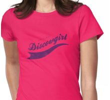 DISCOWGIRL - P Womens Fitted T-Shirt