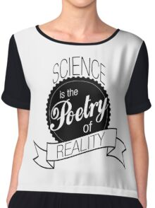 Science Poetry of Reality (mugs) Chiffon Top