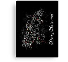 Christmas Sci-Fi - III Canvas Print
