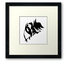 Dragon Logo Framed Print