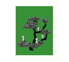 Kodama Tree Art Print