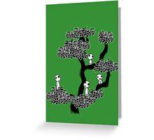 Kodama Tree Greeting Card