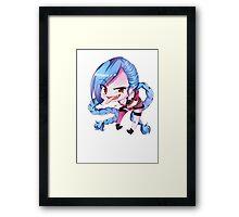 chibi jinx Framed Print