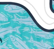 V.V Blue Sticker