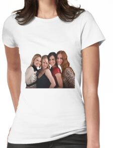 Once Upon A Time Female Cast Womens Fitted T-Shirt