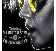 Holtzmann - Invent the Future Photographic Print