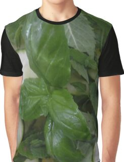 Green-white salad Graphic T-Shirt