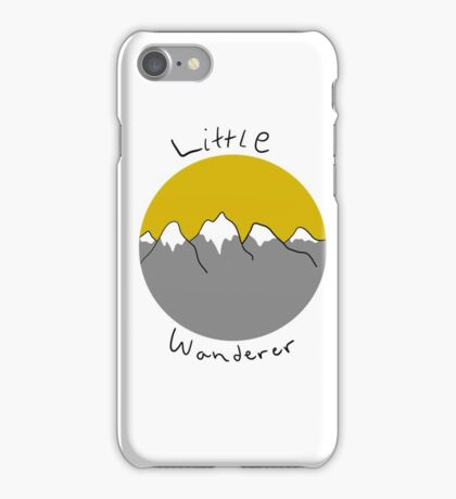 Little wanderer doodle iPhone Case/Skin