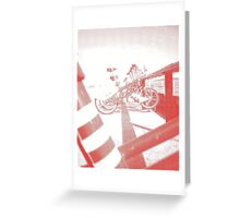 Barcelona Bikes *Red* Greeting Card