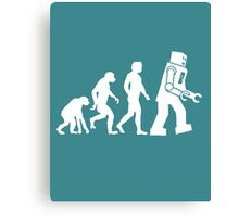Robo-evolution Canvas Print
