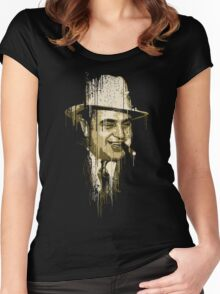 Al Capone Women's Fitted Scoop T-Shirt
