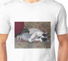 Sleeping Kitten Unisex T-Shirt