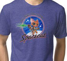 Spacecat Tri-blend T-Shirt