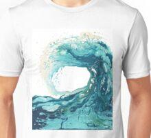 Surf Art Wave Print Ocean Picture Unisex T-Shirt