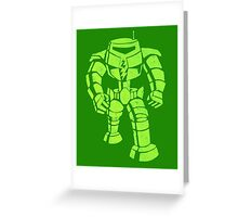 Robo-dude Greeting Card