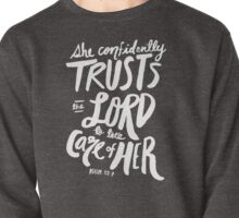 Psalm 112: 7 x Rose Pullover