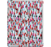 Cool pattern graphic lipstick iPad Case/Skin