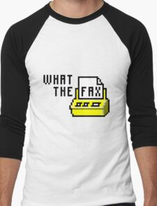 What the fax!?! Men's Baseball ¾ T-Shirt