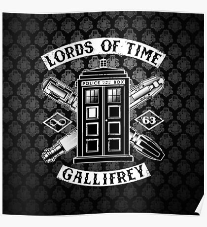 Tardis Lords Of Time Poster