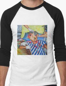 The Face of War Men's Baseball ¾ T-Shirt