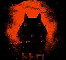 Orange Totoro by Hawkness