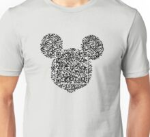 QR Mickey Unisex T-Shirt