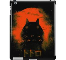 Orange Totoro iPad Case/Skin