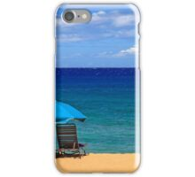 Two Chairs And An Umbrella iPhone Case/Skin