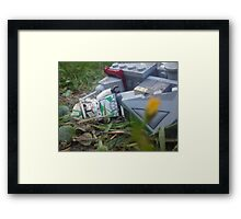 Down and out Framed Print