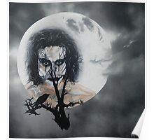 The Crow In the Moonlight Poster