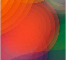 Concentric abstract pattern by o2creativeNY