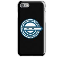 Laughing Man - GHOST IN THE SHELL iPhone Case/Skin