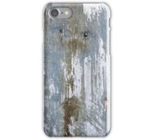 Urbain Grunge Metal texture H iPhone Case/Skin