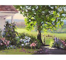 Garden Gate Photographic Print