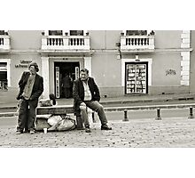 Lunchtime in Quito - no sign of lunch yet.... Photographic Print