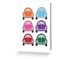 Cars Card Greeting Card