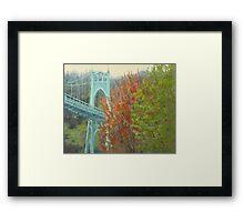 Spring St Johns Framed Print