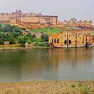 Amer Fort - Jaipur - Rajasthan - India by TonyCrehan