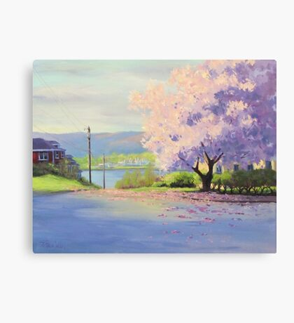 Urban Magnolia Canvas Print